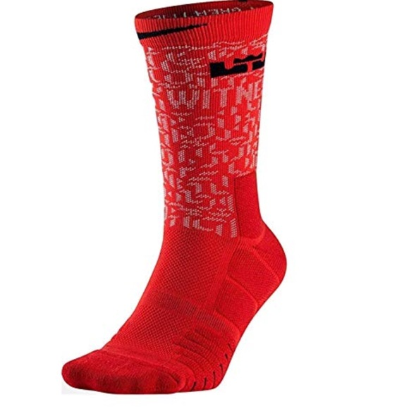 b6d40faef455 🏀NWT NIKE Lebron elite crew socks basketball